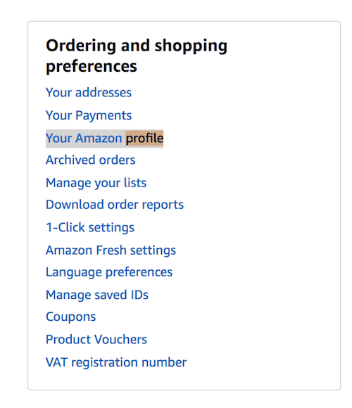Amazon New Review Links