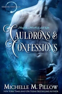 Book Cover: Cauldrons and Confessions