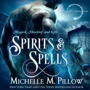 Book Cover: Audiobook: Spirits and Spells