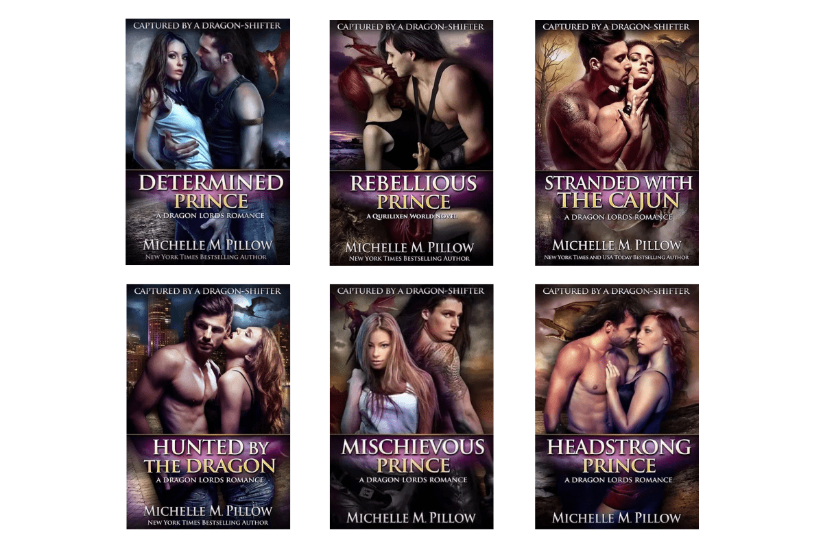 Captured-by-a-dragon-shifter-book-series-covers