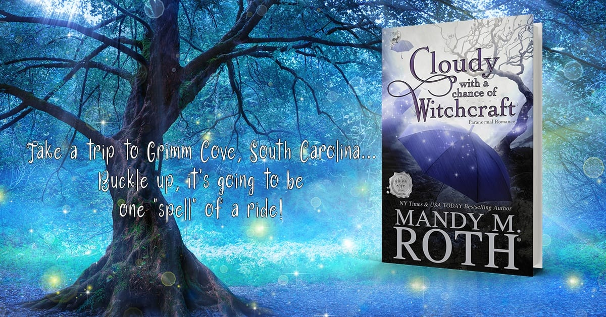 Magic witch book tree of life power book hardcover grimm cove