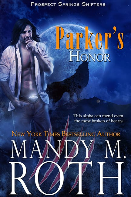 Parker's Honor historical shifter Science fiction paranormal romance books