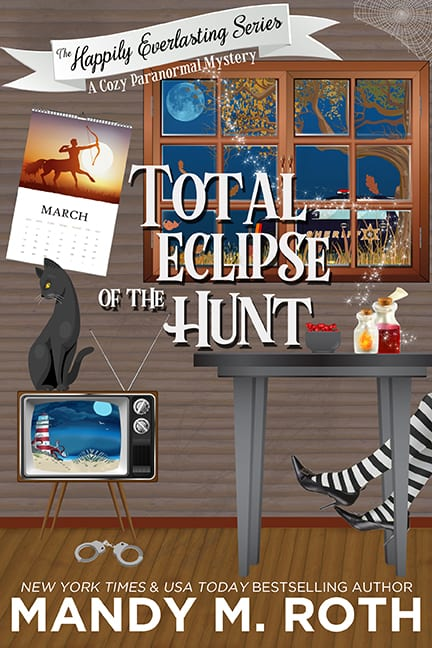 Total Eclipse of The Hunt Happily Everlasting Cozy Mystery Romance Jana Deleon Kristen Painter Michelle Pillow