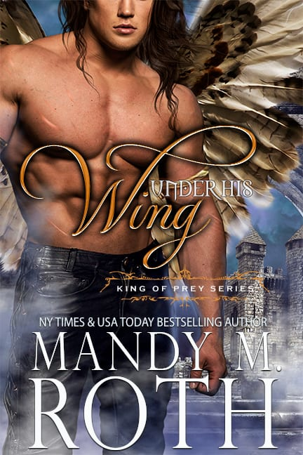 Under His Wing bird shapeshifter king royalty romance books